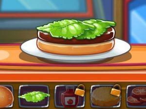 العاب طبخ البرجر للاطفال
