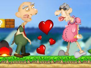 لعبة الرجل العجوز والحب