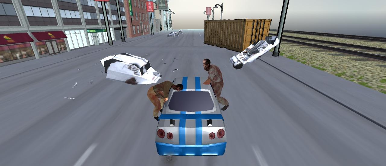 العاب الزومبى والسيارات