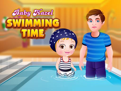 العاب بيبى هازل وحمام السباحة