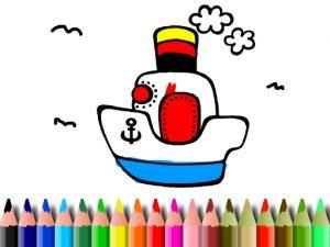 العاب تلوين القوارب