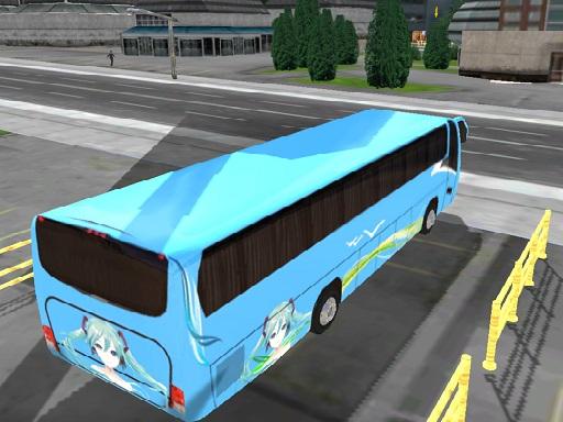 العاب حافلات المدينة