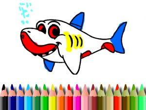 العاب كتاب تلوين القرش