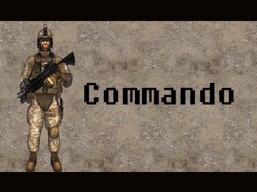 العاب كوماندوز الحربية