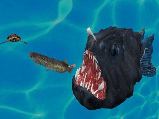 العاب مغامرات سمك القرش