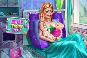 العاب ولادة باربي في المستشفى