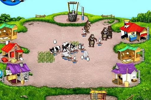 لعبة إدارة مزرعة الدجاج