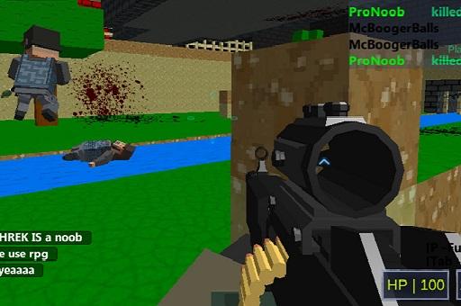 لعبة إطلاق النار