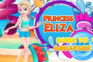لعبة الأميرة فى أكوابارك