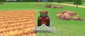 لعبة الجرار في المزرعة
