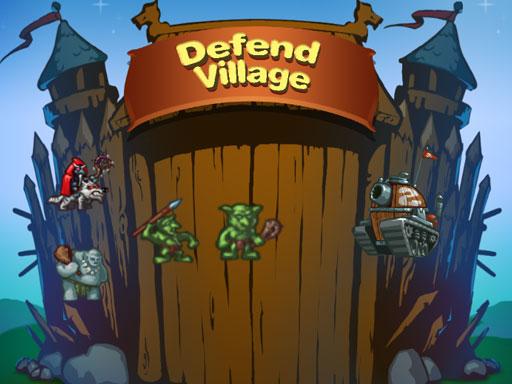 لعبة الدفاع عن القرية