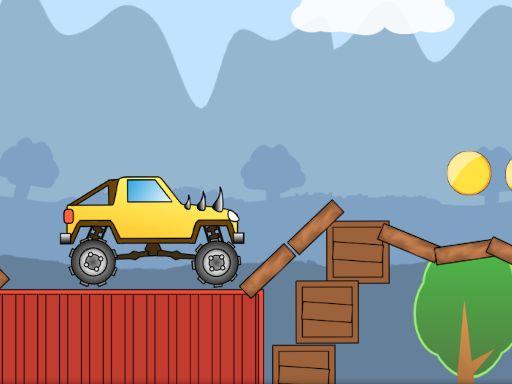 لعبة الشاحنة الوحش