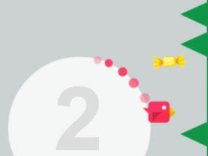 لعبة الطيور وجمع الحلوى