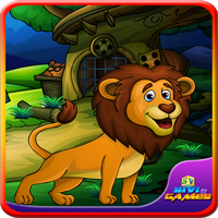 لعبة انقاذ ملك الغابات
