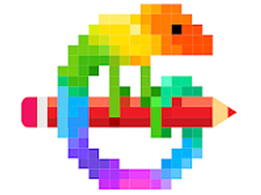 لعبة بالألوان البيكسلية