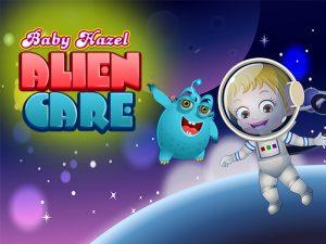 لعبة بيبى هازل فى الفضاء