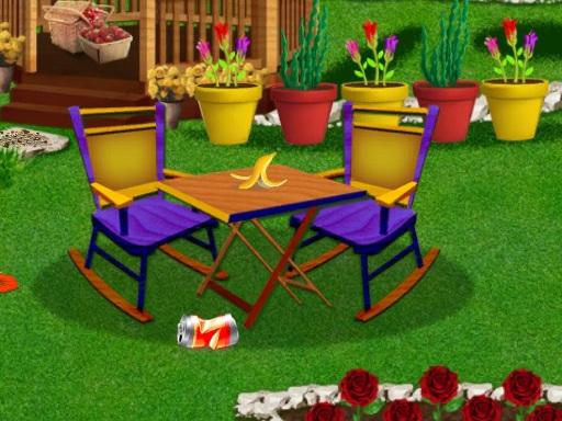 لعبة تصميم الحديقة