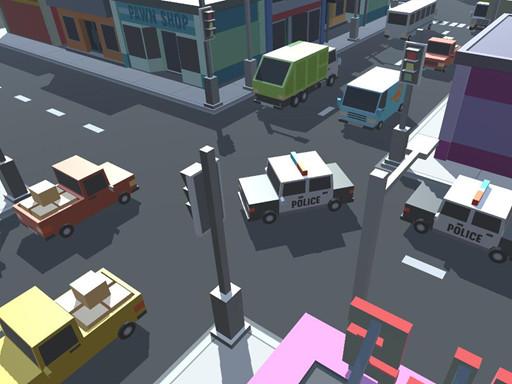 لعبة حركة المرور