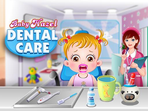 لعبة رعاية أسنان بيبى هازل
