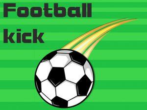 لعبة ركلات كرة قدم