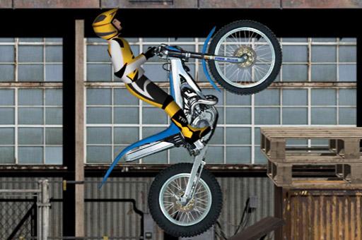 لعبة ركوب دراجة نارية