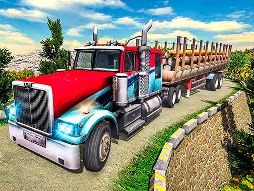 لعبة سائق الشاحنة الثقيلة
