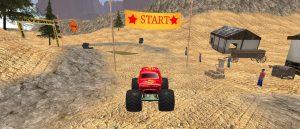 لعبة سباق الشاحنة الوحش