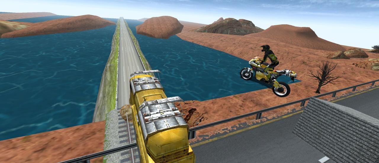 لعبة سباق دراجات الطريق السريع
