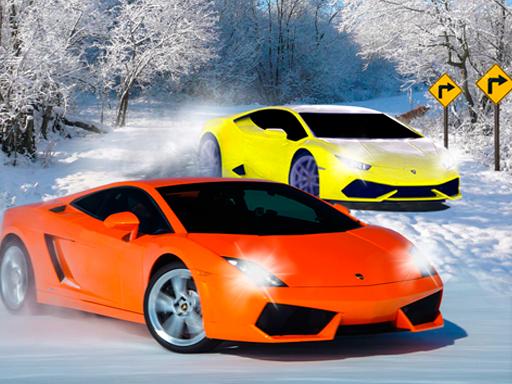 لعبة سباق سيارات الثلوج