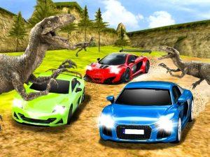 لعبة سباق سيارات دينو