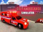 لعبة سيارات إسعاف المدينة