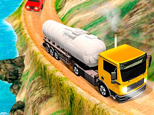 لعبة شاحنة نقل النفط الضخمة