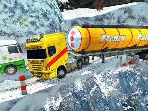 لعبة شاحنة نقل النفط
