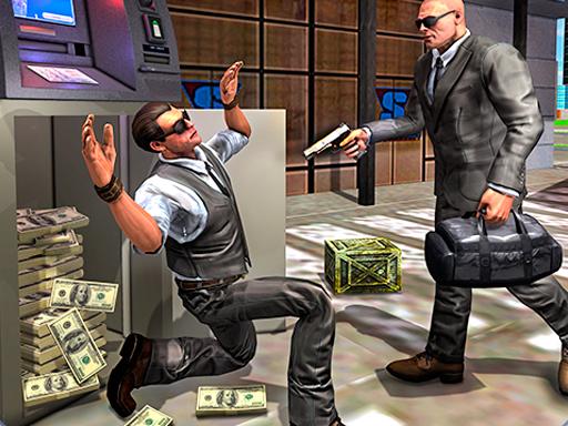 لعبة صراف بنك