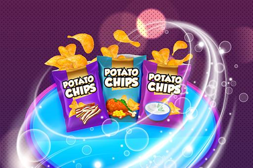 لعبة صنع رقائق البطاطس
