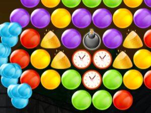 لعبة ضرب الفقاعات الملونة