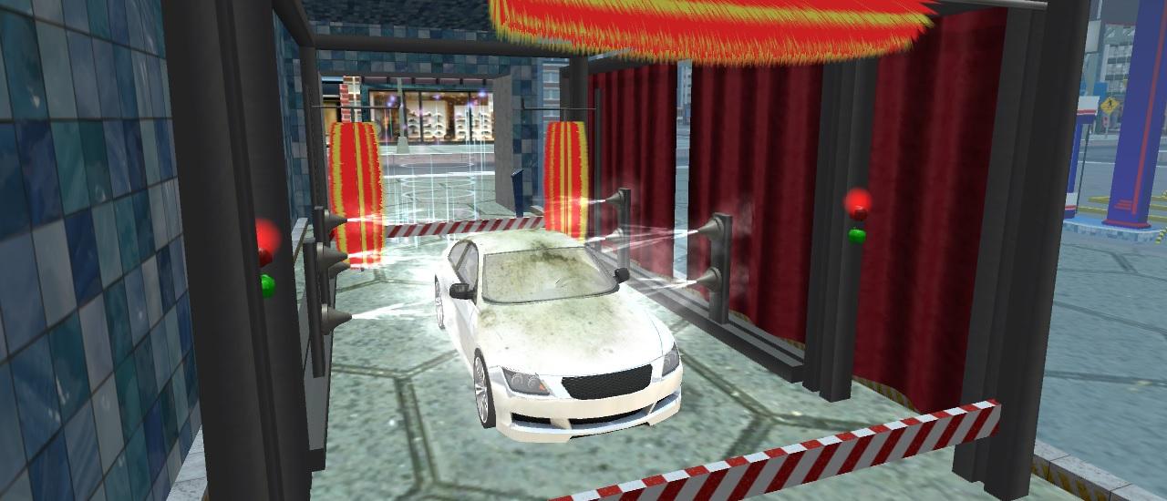لعبة غسيل السيارات