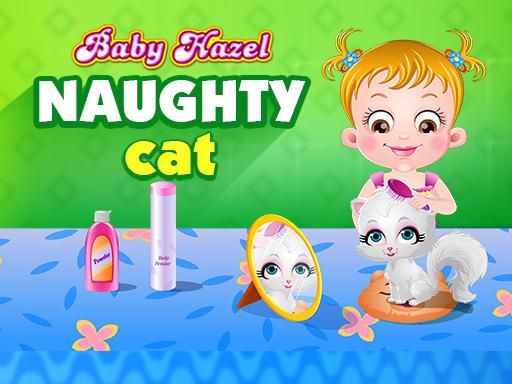 لعبة قطة بيبى هازل الشقية