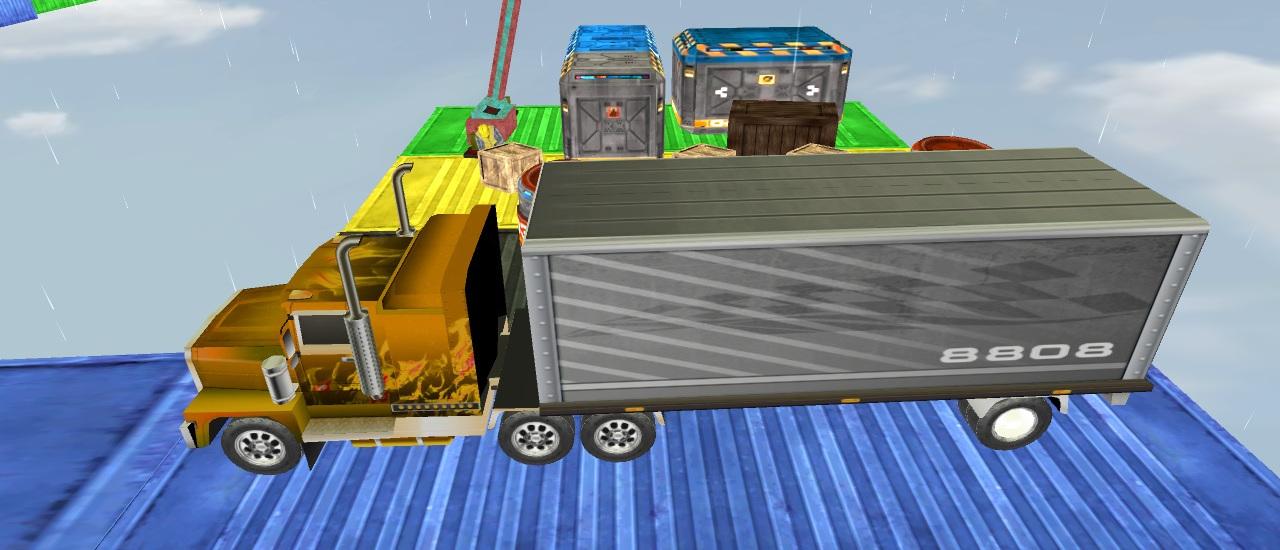 لعبة قيادة الشاحنة المستحيلة