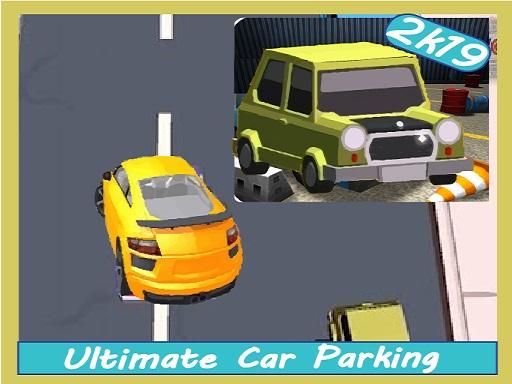 لعبة قيادة وركن السيارات