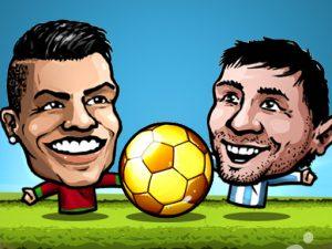 لعبة كرة القدم محمد صلاح