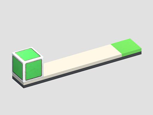 لعبة لغز المربع الأخضر