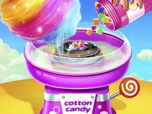لعبة متجر حلوى القطن