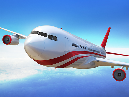 لعبة محاكاة طيران رائعة