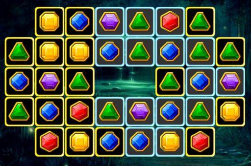 لعبة مطابقة الجواهر