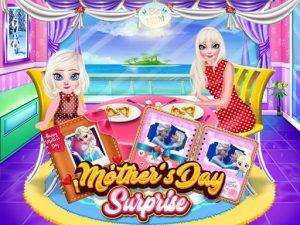 لعبة مفاجأة إلسا فى عيد الأم