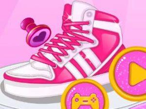 لعبة مهارة تصميم الأحذية