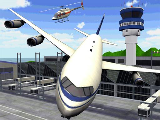 لعبة موقف طائرات المطار