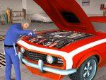 لعبة ميكانيكي للسيارات