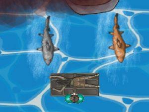 لعبة هجوم القرش الضخم